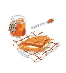 Food Sketch, Food Painting, Food Drawing, Logo Food, Food Illustrations, Cute Food, Food Gifts, Cute Illustration, Cute Stickers