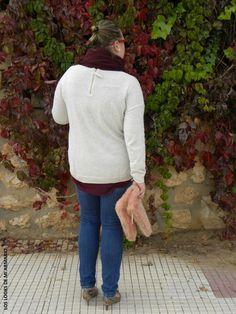 Look JEANS VIOLETA BY MANGO & JERSEY OVERSIZE LOS LOOKS DE MI ARMARIO. #loslooksdemiarmario #winter #primark #outfitcurvy #invierno #look #lookcasual #lookschic #tallagrande #curvy #plussize #curve #fashion #blogger #madrid #bloggercurvy #personalshopper #curvygirl #lookinvierno #lady #chic #looklady #lookconjeans #jeanspitillo #burgundy #jerseyoversize #look #outfit  #workinggirl #lookcampo #lookcasual #jeans #violetabymango @violetabymango