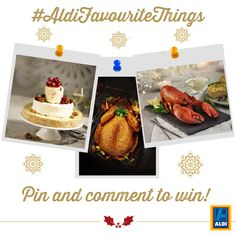 Pin and comment to win a £50 Aldi voucher to buy everything you need for your perfect #Christmas!