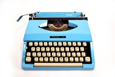I had a typewriter like this. 70's