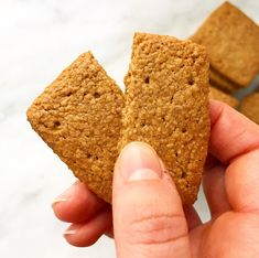 If you've been around here a while, you know that I spend 51 weeks of the year dreaming about my annual trip to Swans Island, Maine, and one week actually on the island. Gluten Free Graham Crackers, Toasted Oats, Homemade Crackers, Swans, Vegan Desserts, Vegan Gluten Free, Meal Ideas, Meal Planning, Maine