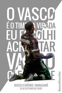 Veja imagem publicada pelas redes sociais do Vasco para motivar torcedor a comparecer ao Maracanã - NETVASCO