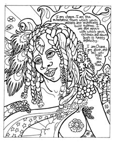 A Discordian Coloring Book by Laramie Sasseville; http://www.cafepress.com/dreamspell/855912