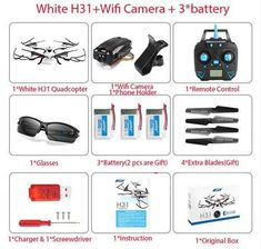 Quadcopter Waterproof Drone H31 Helicopter WiFi FPV Camera