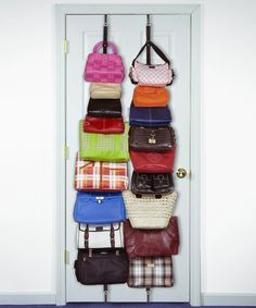 Take a look at the Hanging Bag & Purse Rack on #zulily today!