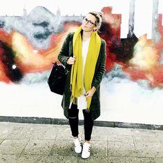 Casual Look mit Superstars by Aline Kaplan