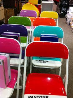 Pantone chair display