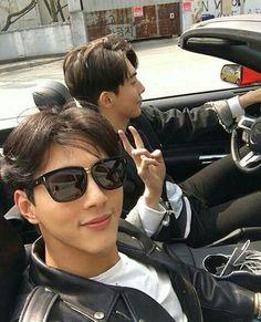 Ji soo and Nam Joo Hyuk - sexiest bromance ever << That's the understatement of proportions that I can't even describe. Jong Hyuk, Lee Jong Suk, Asian Actors, Korean Actors, Ji Soo Nam Joo Hyuk, Nam Joo Hyuk Wallpaper, Ji Soo Actor, Jun Matsumoto, Hong Ki