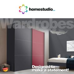 A simple gesture is more than enough to create a big impression.  Likewise a single unit of furniture can make a big difference to your room.  Wardrobe in a bedroom plays a crucial role in creating that perfect look.  Our collection of wardrobes in varied sizes and designs are created to do just that. What's more, now get it designed and installed in just 7 days.  #Homestudio #RoomFurniture #Wardrobe