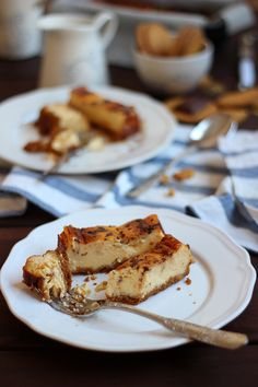 """Tarta """"stracciatella"""" de queso y galleta {con chocolate}"""