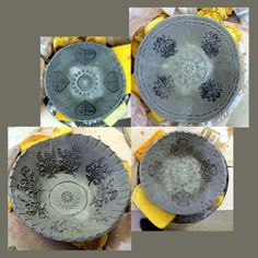 Pottery Day at Plum Pottery East Studio. Last semester my pottery instructor, Rhea, had an entire table of these awesome looking bowls. They were surrounded with newspaper and I wondered how they …