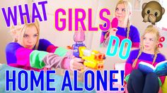 What Girls Do When They're Home Alone! | Madison Martine
