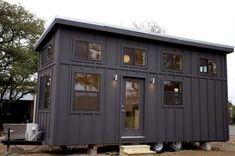 Black Pearl Tiny House by Nomad Tiny Homes 001