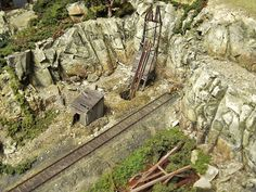 HO Scale Layout coming soon. This is a double track with a small yard and Western High Desert style scenery. Comes in either DC or DCC controls included. Escala Ho, Ho Train Layouts, Hobby Trains, Ho Scale Trains, Train Set, Best Model, Model Trains, Scale Models, Scenery