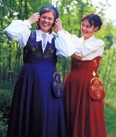 Hello all, This is the second part of my overview of the costumes of Norway. This will cover the central row of provinces in Eastern N. Norwegian Clothing, Lillehammer, Heartland, Norway, Costumes, Embroidery, Ol, Clothes, Dresses