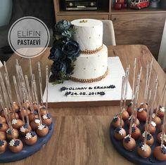Nişan pastası ve pasta ile uyumlu popcakeler �� #bakırgold http://gelinshop.com/ipost/1522707644010545168/?code=BUhvojaBUAQ