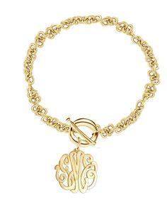 Designer Personalized Initials Bracelet Order by KetiSorelyDesigns, $65.00