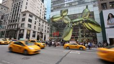 The largest H&M store in the world opens on Fifth Avenue in NYC featuring a collaboration with iconic artist Jeff Koons