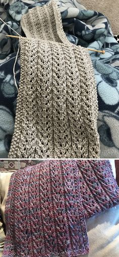 Birch Trees Scarf – Free Pattern – Knitting patterns, knitting designs, knitting for beginners. Knitting Blogs, Knitting For Beginners, Loom Knitting, Knitting Stitches, Knitting Patterns Free, Knit Patterns, Free Knitting, Free Pattern, Knitting Patterns For Scarves
