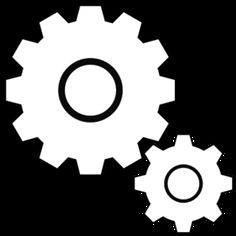gear template for steampunk lesson