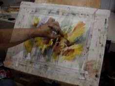 Floral Watercolor Demonstration (Video) by Brazilian Watercolorist Fábio Cembranelli