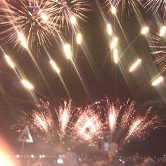 Lo spettacolo di musica e fuochi che il 14 agosto ha incantato Bellaria Igea Marina