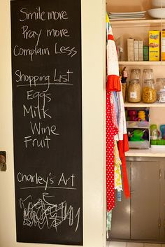 Love this for somewhere in a kitchen...