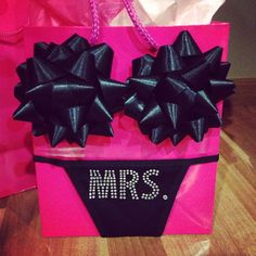 this is such a cute way to give a bridal shower or bachelorette gift!