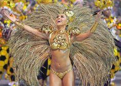 Sabrina Sato,apresentadora da Rede Record e Rainha da Escola de Samba Gaviões da Fiel.