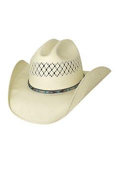 Shapeable Straw Modern Cowboy Hat
