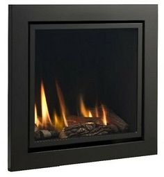 Vola 600 x 600 Black Remote Control Hole in the wall HE Gas Fire Warranty Small Electric Fireplace, Direct Vent Gas Fireplace, Electric Fireplaces, Gas Fires And Surrounds, Glass Fronted Gas Fire, Flueless Gas Fires, Fireplaces Uk, Bean Bag Living Room, Camden Street