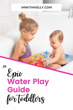 Water Play at Home for Toddlers: An Epic Guide to Toddler Entertainment Hands On Activities, Sensory Activities, Toddler Activities, Toddler Development, Water Play, Parenting Toddlers, Going Fishing, Early Childhood Education, Toddler Crafts