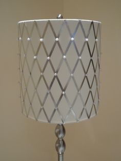 Plain lampshade Transformation DIY !!! (Please go to my facebook page to see more pictures of how to make this!)