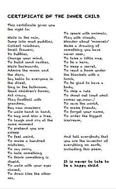 1000+ ideas about Inner Child Healing on Pinterest | Inner Child ...