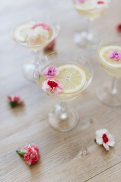THE SPARKLING FLORAL LEMON DROP - The Glitter Guide