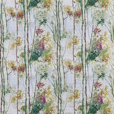 Silver Birch in Orchid 296 by Prestigious Textiles | Curtain Fabric Store Curtain Material, Curtain Fabric, Zebra Curtains, Prestigious Textiles, Made To Measure Curtains, Green Fabric, Fabric Wallpaper, Modern Prints, Birch