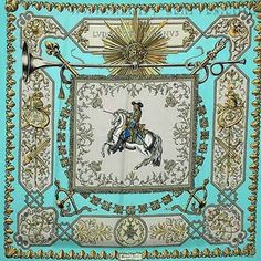 "Ludovicus+Magnus+(from+<a+href=""http://piwigo.hermesscarf.com/picture?/1752/category/Home"">HSCI+Hermes+Scarf+Photo+Catalogue</a>)"