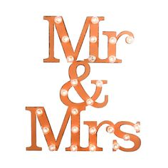 Mr & Mrs Marquee Sign | dotandbo.com