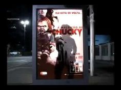 Curse Of Chucky Scare Prank At The Bus Stop! - YouTube