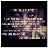 I Love Softball Quotes | softball #softball