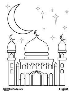 Chaque année, tu vas bien, le Ramadan est à nos portes et tu es heureux. - #à #année #bien #chaque #es #est #heureux #le #nos #portes #ramadan #Tu #vas Eid Crafts, Ramadan Crafts, Easy Coloring Pages, Coloring Sheets, Eid Mubarak, Ramadan Karim, Islam For Kids, Art N Craft, Islamic Calligraphy