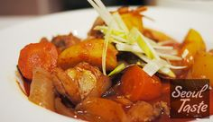 닭볶음탕 (Spicy Chicken Stew)