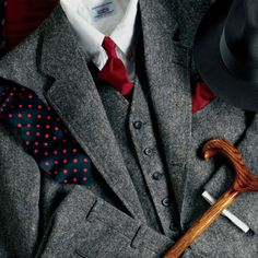 Eliminate the polka dot tie, and it is a go. I love the classic look.