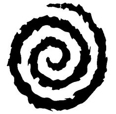"The design I found was done by ""Mikey Mono"". In Japanese, a spiral is called an ""Uzumaki"". Since I started learning how to DJ for events, I started using the handle: ""DJ Uzumaki"". ^__^ \m/ This'll go on my right elbow"