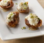 Figs with Ricotta, Pistachios, and Honey........Suzanne-see review for suggestion