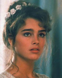 Brooke Shields in the 80's
