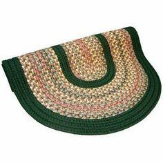 "Pioneer Valley II Autumn Wheat with Dark Green Solids Rug Size: Round 5'6"" . $328.00"