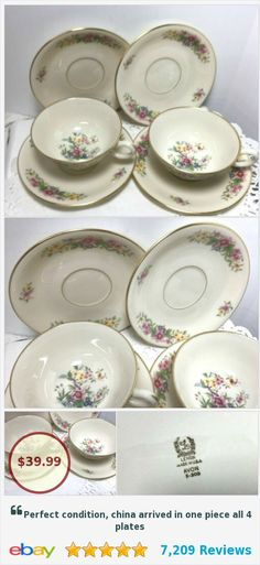 Supply Set Of 8 Cups & Saucers Art Deco Minton Demitasse White China Unused Condition Collectibles