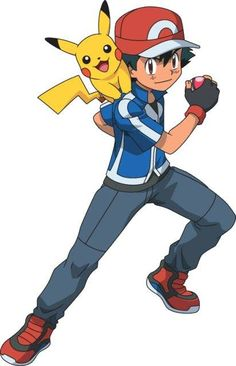 Ash's new look in the Pokémon X and Y anime. (I wish they would bring back Brock though in the series)
