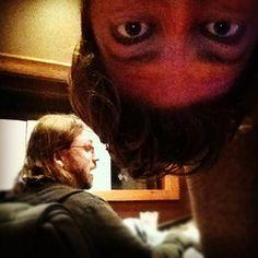 Jim is always watching....